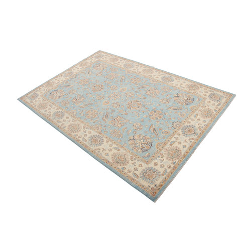 299x205 cm Hand knotted Traditional Ziegler Wool Carpet