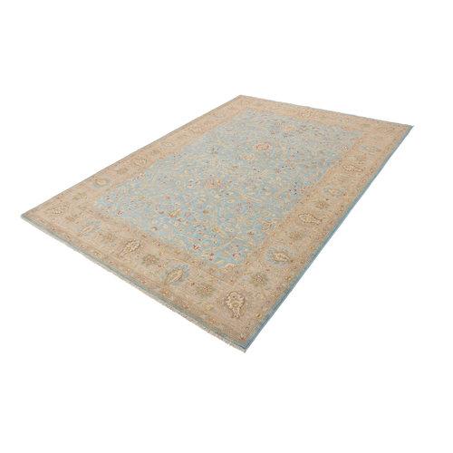 288x205 cm Handgeknüpft traditionell Ziegler Wolle Teppich