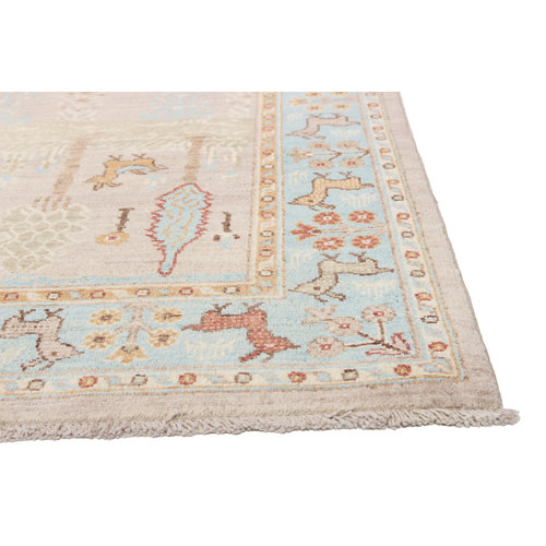298x202 cm Hand knotted Traditional Ziegler Wool Carpet