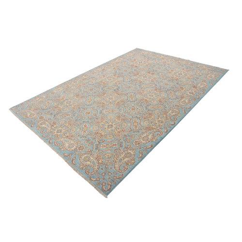 301x210 cm Handgeknüpft traditionell Ziegler Wolle Teppich
