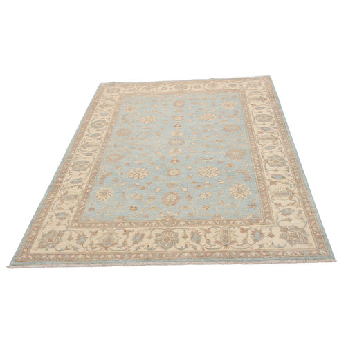 236x169 cm Hand knotted Traditional Ziegler Wool Carpet