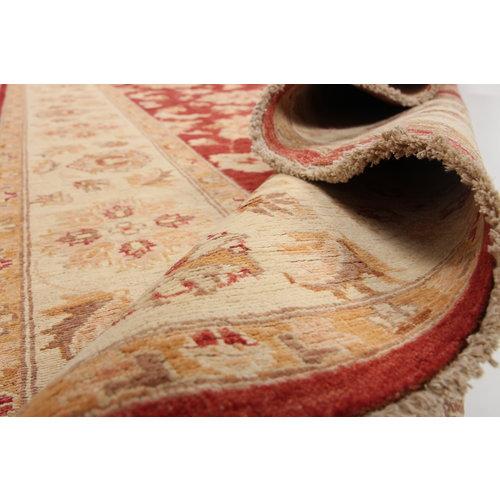 264x178 cm Handgeknüpft traditionell Ziegler Wolle Teppic