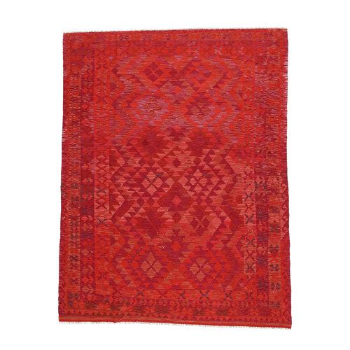 9'4x6'7 cm Handmade Afghan Kilim Rug Wool Carpet