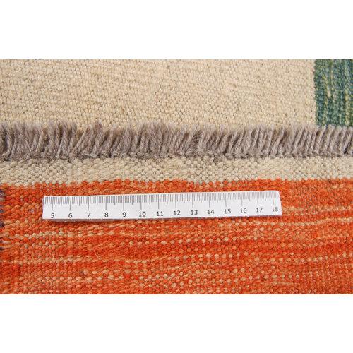 10'x6'8 cm Handmade Afghan Kilim Area Rug Wool Carpet