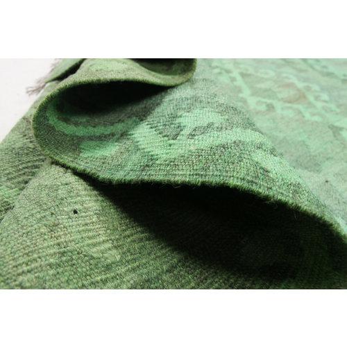 305x200 cm Handgemacht Wolle Kelim Teppich Orientteppich