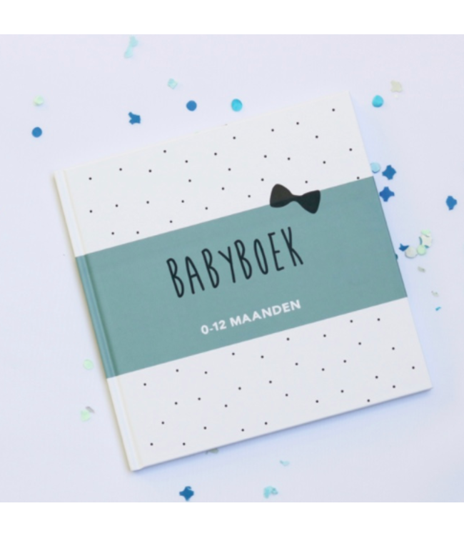 Baby boek | Blauw