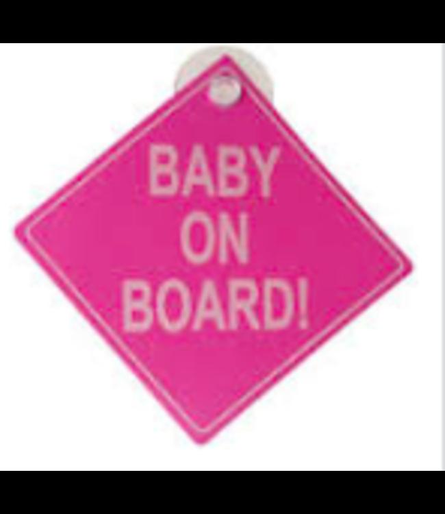 Baby on board | Roze