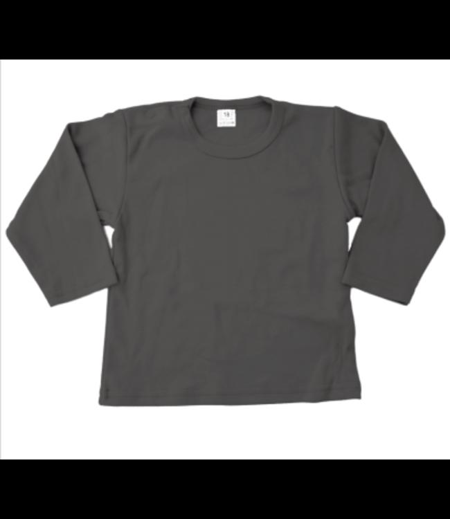Basic t-shirt   Antraciet