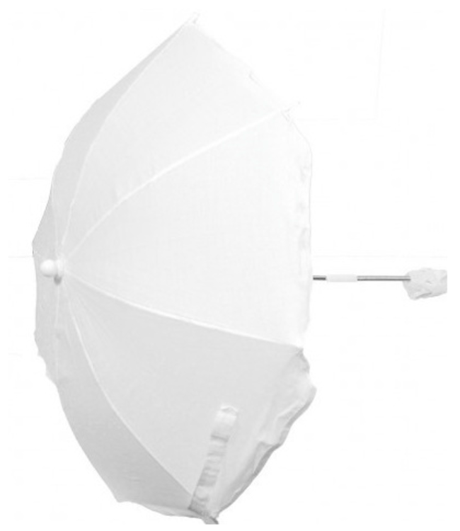 Universele parasol | Wit