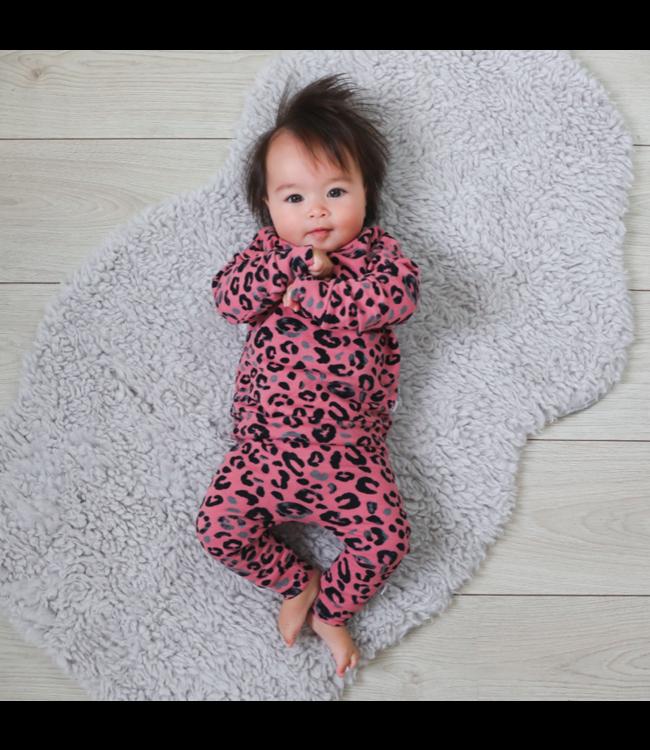 Sweaterpak   Leopard pink