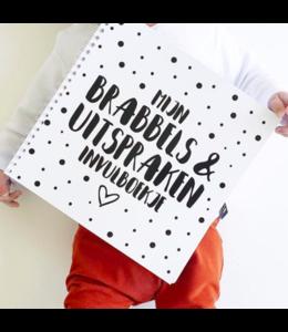 Mijn Brabbels & Uitspraken Invulboekje - Wire-O