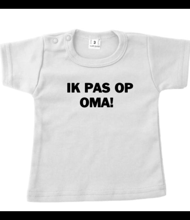 Shirt | Ik pas op Oma