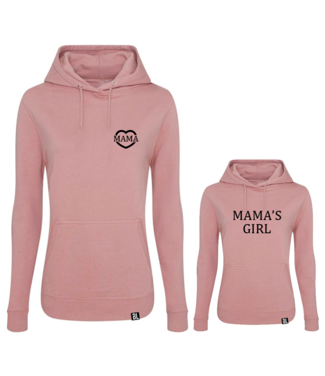 Twinning hoodies   Mama & Mama's girl