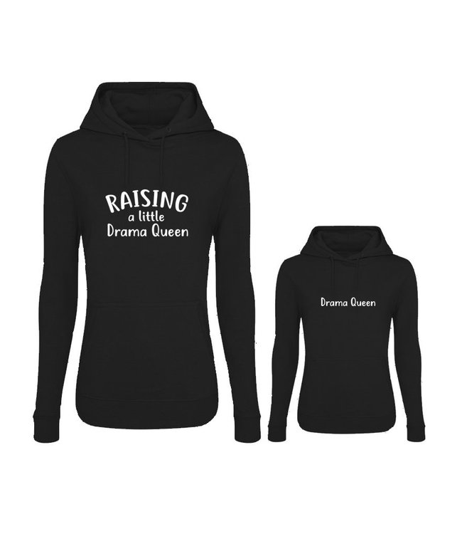Twinning hoodies | Raising a little drama queen