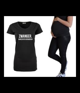 Zwangerschapsshirt | Zwanger, voorzichtig benaderen