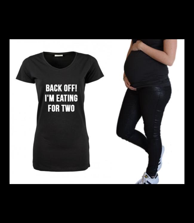 Zwangerschapsshirt | Back off!