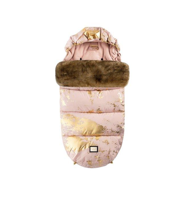 Bjällra of Sweden Luxe roze met gouden voetenzak