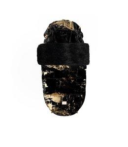 Bjällra of Sweden Luxe zwart met gouden voetenzak