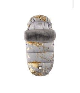 Bjällra of Sweden Luxe grijs met gouden voetenzak