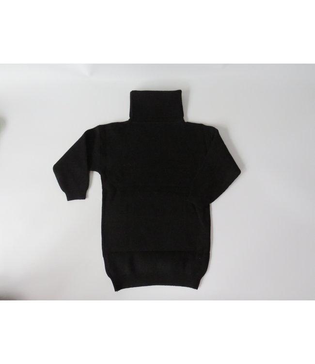 Long sweater met kol