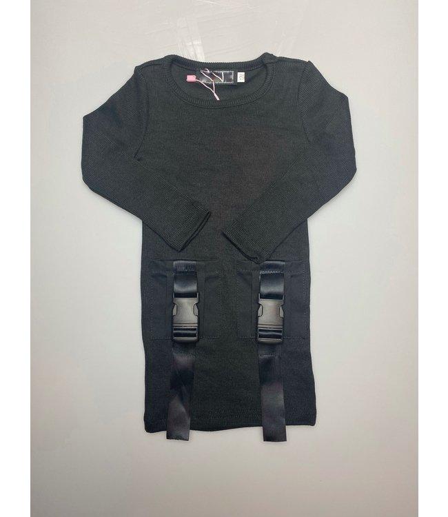 Click dress | black