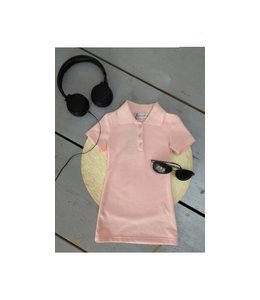 Polo dress | Roze