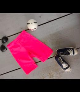 Biker short | Neon roze