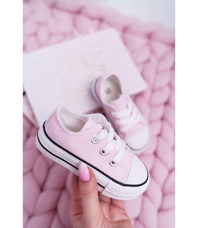 Sneaker laag | Roze