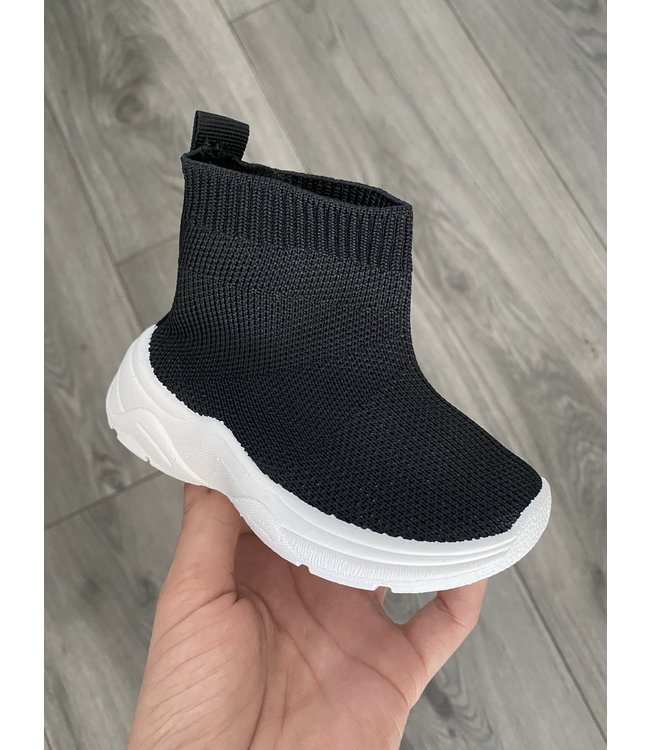 Black style boots