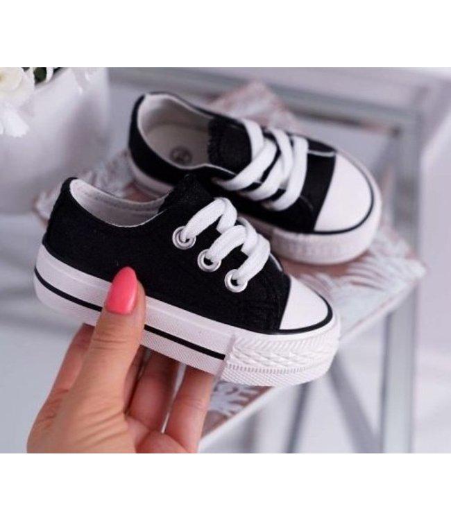 Sneaker laag | Zwart