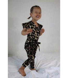 Leopard jumpsuit 164/170