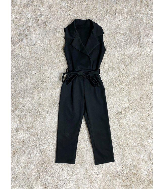 Everyday jumpsuit | Zwart
