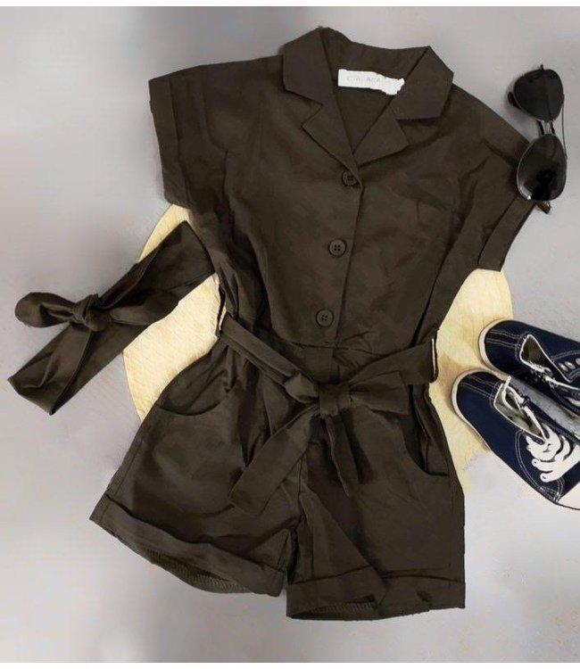 Lovely Jumpsuit | Khaki
