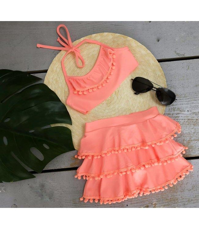 Pom bikini | Roze