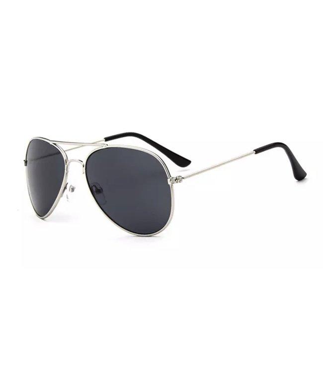 Zonnebril | Zilver grijs