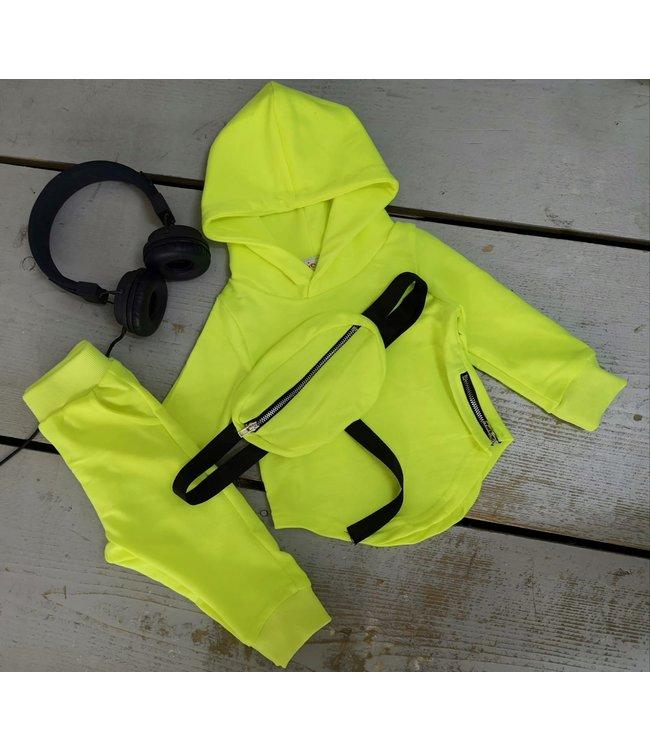 Basic 3 piece set | Neon geel