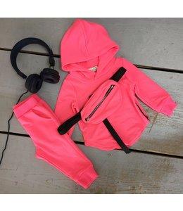 Basic 3 piece   Neon roze