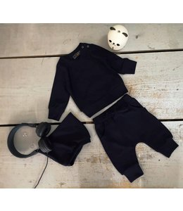 Boys ripped set | Donker blauw