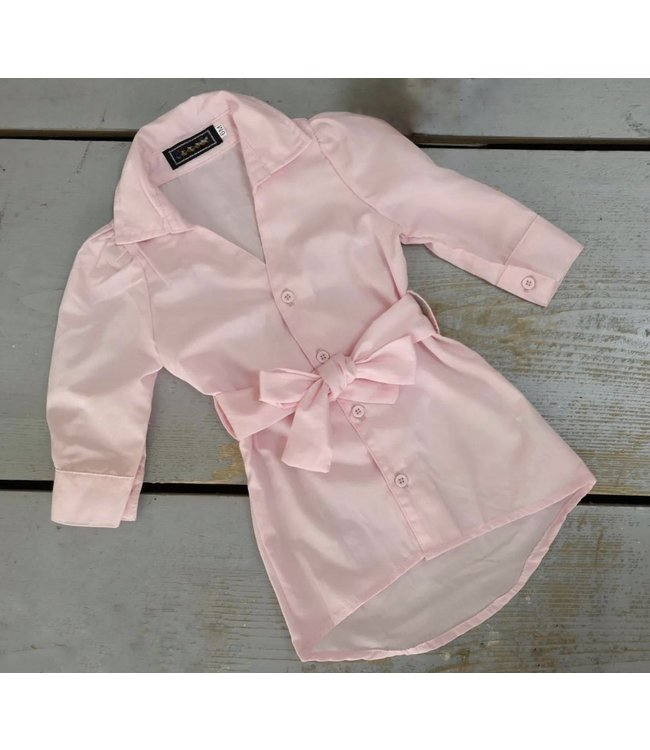 Blouse dress   Roze