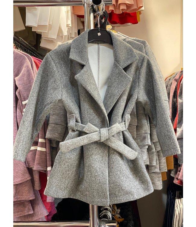 Lovely jacket | Grijs
