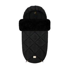 Luxe zwart diamond voetenzak Bjällra of Sweden