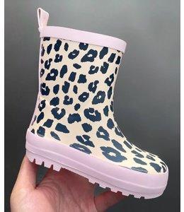 Leopard rain boots : pink ( verzenddatum  5 oktober )