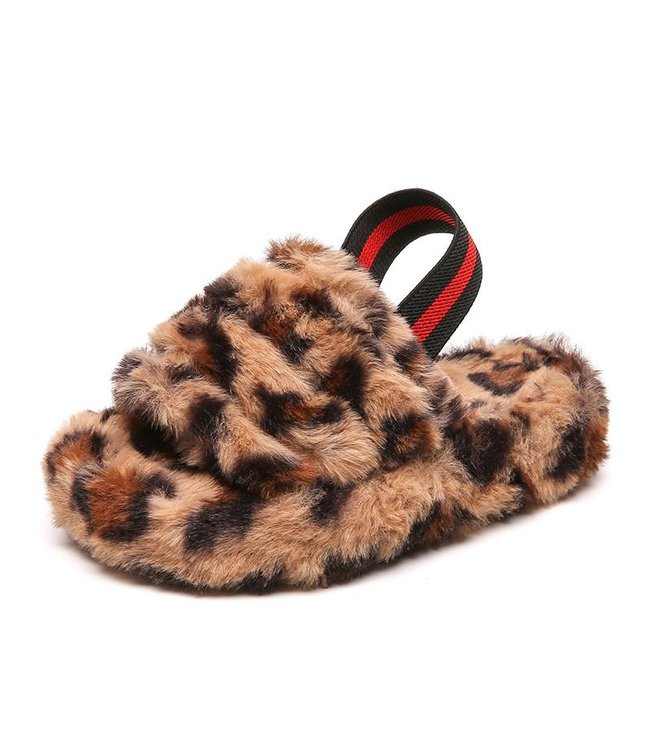 Soft slippers | leopard