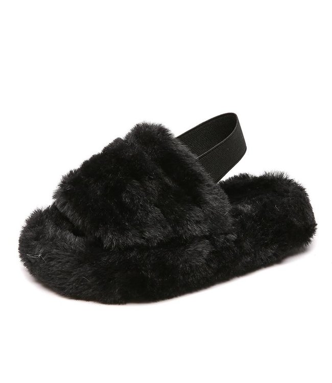 Soft slippers | black