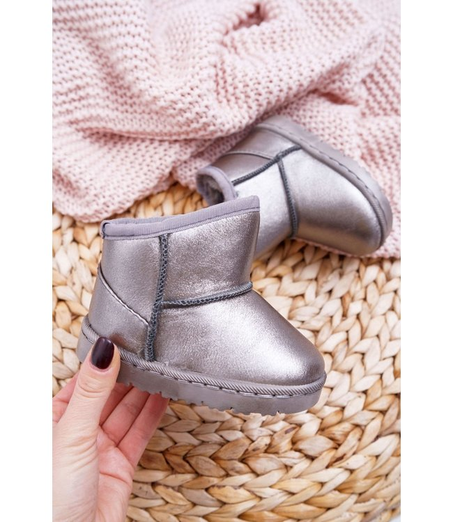 Shiny boots | Grey