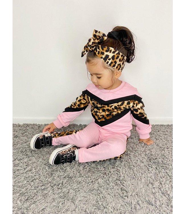 Leopard comfy set | Pink