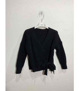 Knotted vest | Black