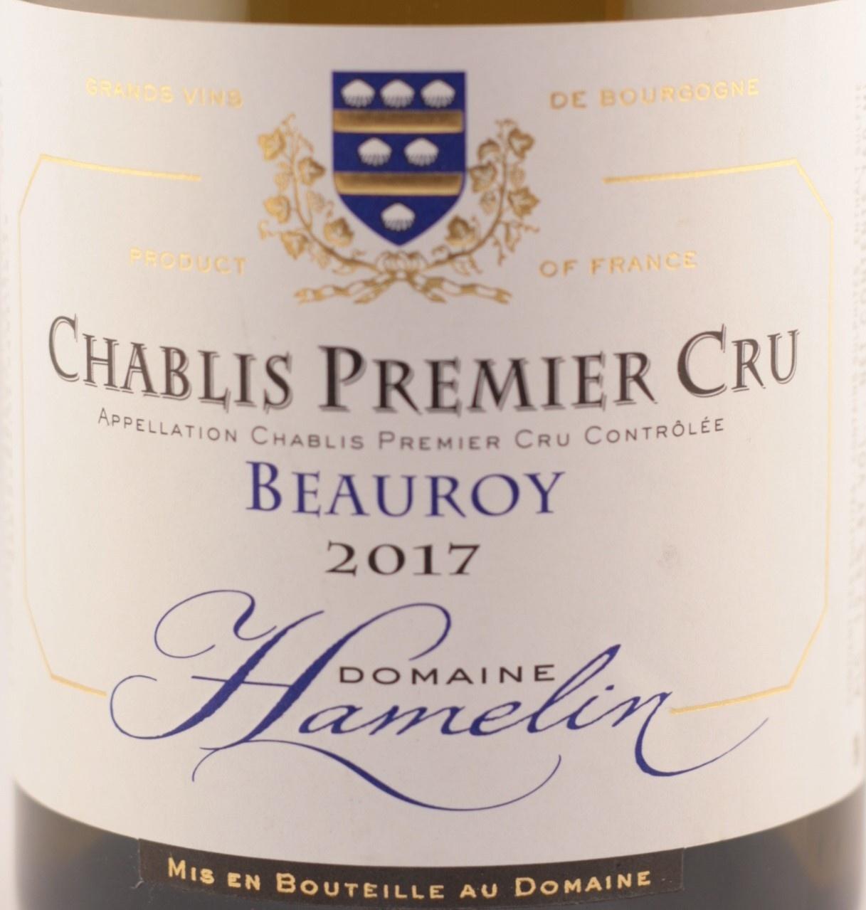 Chablis | Primier cru Beauroy | Domaine Hamelin |2016