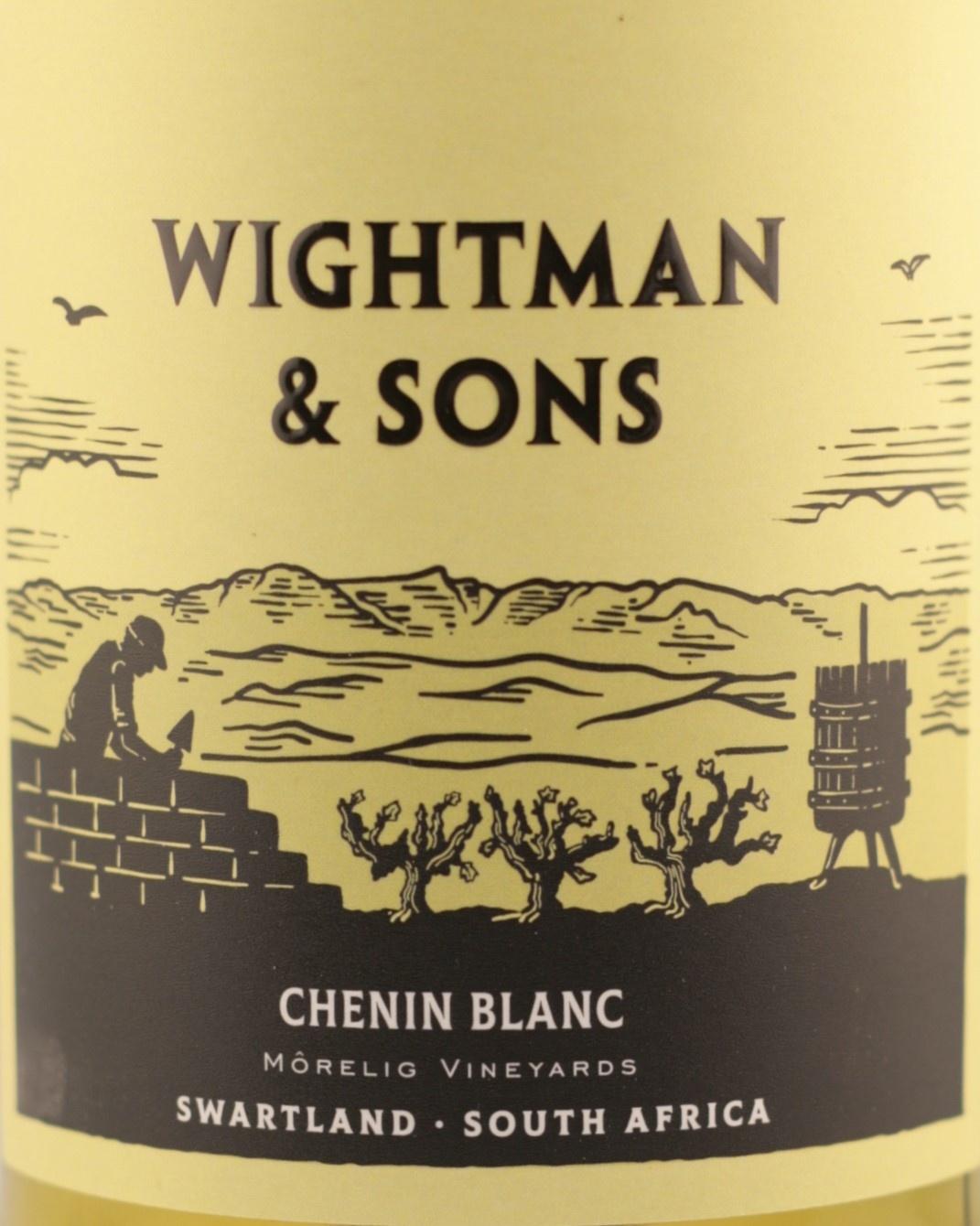Chenin Blanc | Wightman & Sons | 2018 |  Morelig Vineyards | Swartland- Zuid Afrika |Chenin Blanc