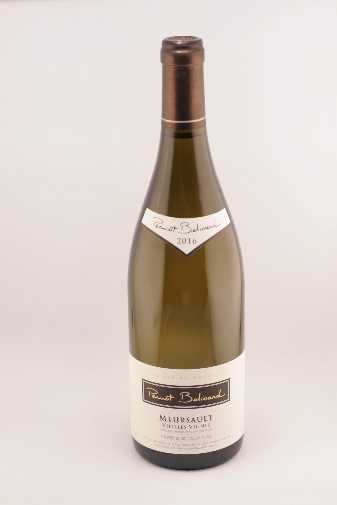 Meursault   Vieilles Vignes   Domaine Pernot Belicard